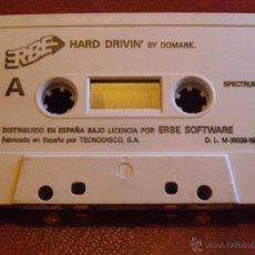 Videojuegos y Consolas: JUEGO ZX SPECTRUM Y COMPATIBLES - HARD DRIVIN - BY DOMARK - ERBE SOFTWARE - CBS - 1989. Lote 41477265
