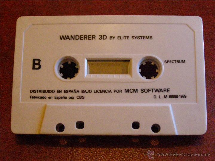 Videojuegos y Consolas: JUEGO ZX SPECTRUM Y COMPATIBLES - WANDERER 3D- BY ELITE SYSTEMS - MCM SOFTWARE - CBS - 1989 - Foto 2 - 41477335