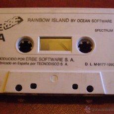 Videojuegos y Consolas: JUEGO ZX SPECTRUM Y COMPATIBLES - RAINBOW ISLAND BY OCEAN SOFTWARE - ERBE -TECNODISCO - 1990. Lote 41477402
