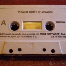 Videojuegos y Consolas: JUEGO ZX SPECTRUM Y COMPATIBLES - POWER DRIFT - BY ACTIVISION - MCM SOFTWARE - TECNODISCO - 1989. Lote 41477439