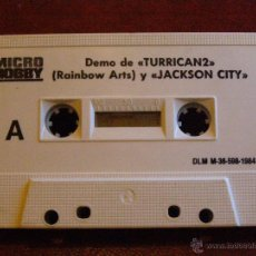 Videojuegos y Consolas: DEMOS PARA ZX SPECTRUM Y COMPATIBLES - MICRO HOBBY - TURRICANE II, JACKSON CITY, SPHERICAL- 1984. Lote 41477567