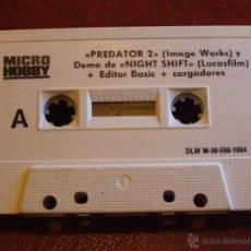 Videojuegos y Consolas: DEMOS Y UTILIDADES PARA ZX SPECTRUM - MICRO HOBBY - PREDATOR II, EDITOR BASIC Y MAS - 1984. Lote 41477624