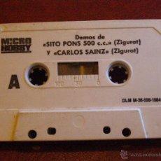 Videojuegos y Consolas: DEMOS PARA ZX SPECTRUM Y COMPATIBLES - MICRO HOBBY -SITO PONS , CARLOS SAINZ, NARCO POLICE -1984. Lote 41477799
