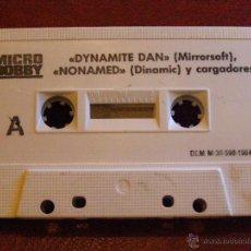Videojuegos y Consolas: DEMOS Y UTILIDADES PARA ZX SPECTRUM - MICRO HOBBY - DYNAMITE MAN, NONAMED, CARGADORES Y MAS - 1984. Lote 41477869
