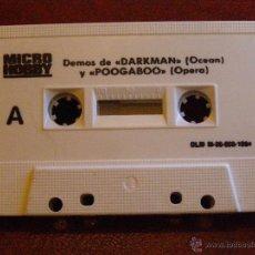 Videojuegos y Consolas: DEMOS PARA ZX SPECTRUM Y COMPATIBLES - MICRO HOBBY - DARKMAN, POOGABOO, DESPERADO II Y MAS -1984. Lote 41477920