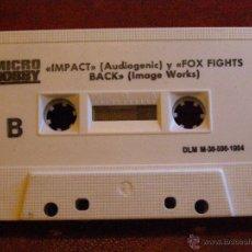 Videojuegos y Consolas: DEMOS PARA ZX SPECTRUM Y COMPATIBLES - MICRO HOBBY - LEMMINGS, FOX FIGHTS BACK, IMPACT -1984. Lote 41477964