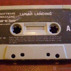 Videojuegos y Consolas: JUEGO CASETE ZX SPECTRUM - LUNAR LANDING - Nº 4B - SOFT. MAGAZINE 1984. Lote 41478024