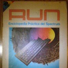 Videojuegos y Consolas: FASCICULO Nº 29 DE 52 - RUN - ENCICLOPEDIA PRÁCTICA DEL SPECTRUM - NUEVA LENTE INGELEK - 1985. Lote 41495430