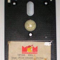 Videojuegos y Consolas: TORTUGAS NINJA [ZX SPECTRUM] [+3] MCM SOFTWARE. Lote 42630391
