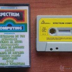 Videojuegos y Consolas: PROGRAMAS SPECTRUM - BIENVENIDO A SPECTRUM COMPUTING. Lote 42781137