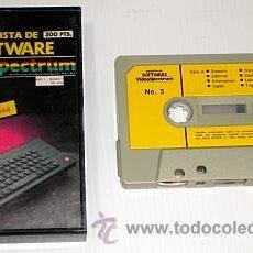 Videojuegos y Consolas: REVISTA DE SOFTWARE VIDEOSPECTRUM NÚMERO 5 [ZX SPECTRUM] [SOLO SOFTWARE]. Lote 43373801