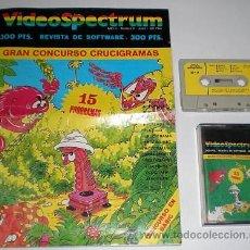 Videojuegos y Consolas: REVISTA DE SOFTWARE VIDEOSPECTRUM NÚMERO 9 [ZX SPECTRUM] [REVISTA Y SOFTWARE]. Lote 43373839