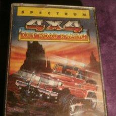 Videojuegos y Consolas: 4 X 4 OFF ROAD RACING DE ERBE - ESPECTUM - CON INSTRUCCIONES - . Lote 43386558