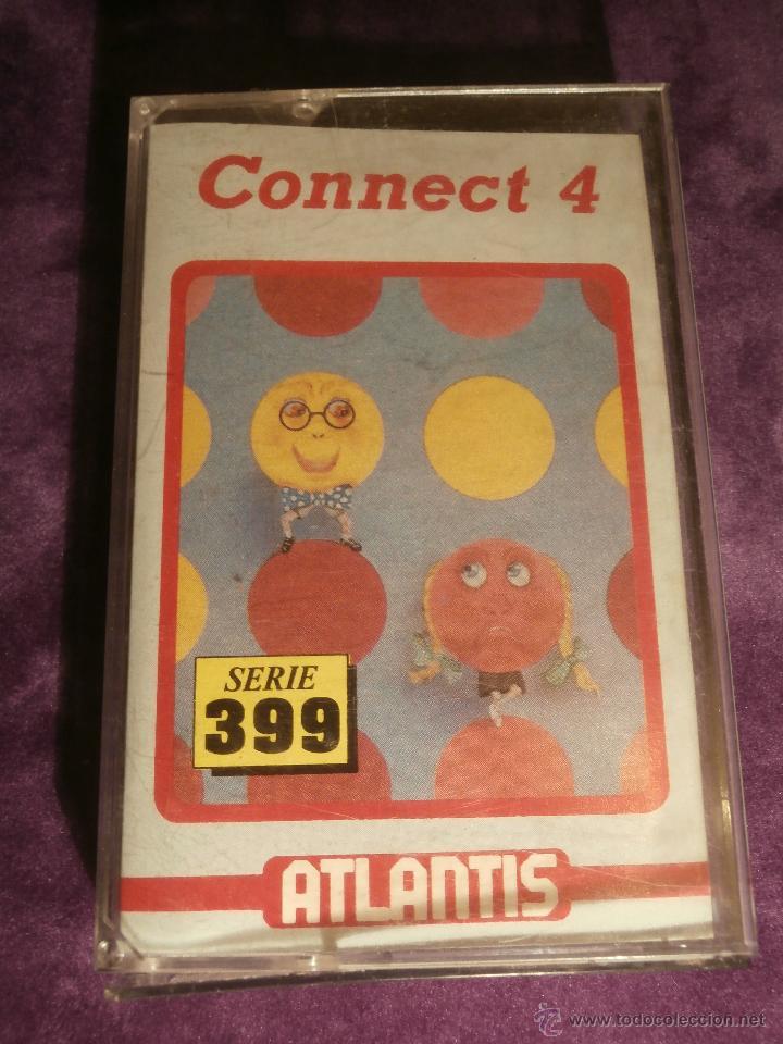 CONNECT 4 - ATLANTIS - 1987 ZAFIRO SOTWARE DIVISION - JUEGO 48K SPECTRUM - (Juguetes - Videojuegos y Consolas - Spectrum)