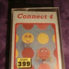 Videojuegos y Consolas: CONNECT 4 - ATLANTIS - 1987 ZAFIRO SOTWARE DIVISION - JUEGO 48K SPECTRUM -. Lote 43386679