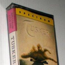 Videojuegos y Consolas: TUSKER [SYSTEM 3] 1989 MCM SOFTWARE [ZX SPECTRUM] [NUEVO PRECINTADO]. Lote 43598106