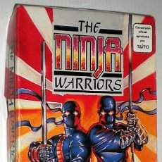 Videojuegos y Consolas: THE NINJA WARRIORS [VIRGIN GAMES] 1989 [DRO SOFT] TAITO [ZX SPECTRUM] [+3] DISCO 3´´. Lote 43668839