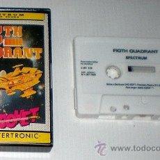 Videojuegos y Consolas: 5TH QUADRANT (FIFTH QUADRANT) [BUBBLE BUS SOFT] 1987 [RICOCHET / DRO SOFT] [ZX SPECTRUM]. Lote 44762352