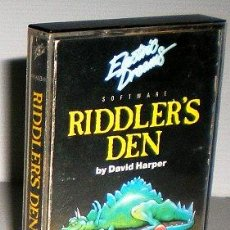 Videojuegos y Consolas: RIDDLER´S DEN [ELECTRIC DREAMS SOFTWARE] 1985 [ZX SPECTRUM]. Lote 44853876