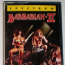 Videojuegos y Consolas: BARBARIAN 2 THE DUNGEON OF DRAX [PALACE SOFTWARE] 1988 - ERBE SOFTWARE [ZX SPECTRUM]. Lote 44999637