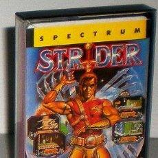 Videojuegos y Consolas: STRIDER [US GOLD] 1989 [TIERTEX] [CAPCOM JAPAN] ERBE SOFTWARE [ZX SPECTRUM]. Lote 45000028