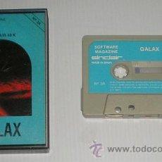 Videojuegos y Consolas: GALAX [GRUPO DE TRABAJO SOFTWARE S.A] 1985 SOFTWARE MAGAZINE 3A [ZX SPECTRUM]. Lote 45098242