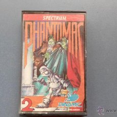 Videojuegos y Consolas: JUEGO PARA SPECTRUM PHANTOMAS 2 DINAMIC. Lote 45267574