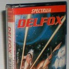 Videojuegos y Consolas: DELFOX [DINAMIC SOFTWARE] [1988] ZEUS SOFTWARE - DINAMIC 100% [ZX SPECTRUM]. Lote 45704233