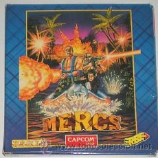Videojuegos y Consolas: MERCS [US GOLD] [CAPCOM JAPAN] [ERBE SOFTWARE] [1991] [ZX SPECTRUM]. Lote 45754531