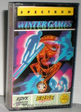 WINTER GAMES [US GOLD] 1986 ERBE SOFTWARE [ZX SPECTRUM] (Juguetes - Videojuegos y Consolas - Spectrum)