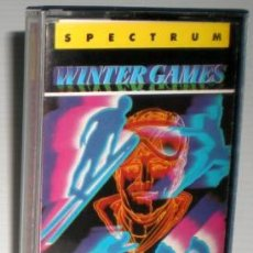 Videojuegos y Consolas: WINTER GAMES [US GOLD] 1986 ERBE SOFTWARE [ZX SPECTRUM]. Lote 45766221