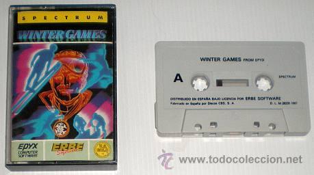 Videojuegos y Consolas: Winter Games [US Gold] 1986 Erbe Software [ZX Spectrum] - Foto 3 - 45766221