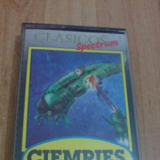 Videojuegos y Consolas: JUEGO SPECTRUM CIEMPIES. Lote 46025008