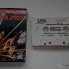 Videojuegos y Consolas: SPECTRUM JUEGO DELFOX DINAMIC. Lote 46193545