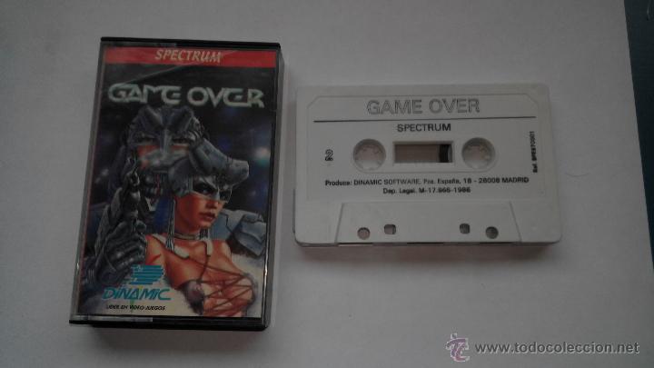 JUEGO SPECTRUM GAME OVER DINAMIC (Juguetes - Videojuegos y Consolas - Spectrum)
