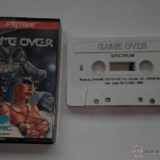 Videojuegos y Consolas: JUEGO SPECTRUM GAME OVER DINAMIC. Lote 46193644