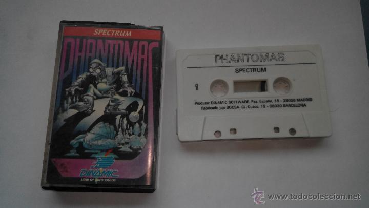 SPECTRUM JUEGO PHANTOMAS DINAMIC (Juguetes - Videojuegos y Consolas - Spectrum)