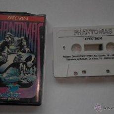 Videojuegos y Consolas: SPECTRUM JUEGO PHANTOMAS DINAMIC. Lote 46193854