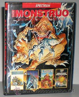 MONSTRUO PACK [DINAMIC] [1987] [ZX SPECTRUM] ARMY MOVES,DUSTIN,LIVINGSTONE SUPONGO,HIGHWAY ENCOUNTER (Juguetes - Videojuegos y Consolas - Spectrum)