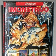 Videojuegos y Consolas: MONSTRUO PACK [DINAMIC] [1987] [ZX SPECTRUM] ARMY MOVES,DUSTIN,LIVINGSTONE SUPONGO,HIGHWAY ENCOUNTER. Lote 47026214