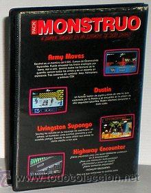 Videojuegos y Consolas: Monstruo Pack [Dinamic] [1987] [ZX Spectrum] Army Moves,Dustin,Livingstone Supongo,Highway Encounter - Foto 2 - 47026214