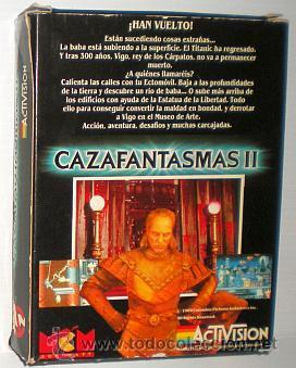 Videojuegos y Consolas: Cazafantasmas 2 [Activision] 1989 MCM Software [Zx Spectrum] The Ghostbusters 2 II - Foto 2 - 47331992
