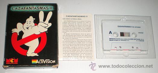 Videojuegos y Consolas: Cazafantasmas 2 [Activision] 1989 MCM Software [Zx Spectrum] The Ghostbusters 2 II - Foto 3 - 47331992