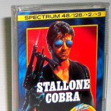 Videojuegos y Consolas: COBRA [OCEAN SOFTWARE] 1986-1989 THE HIT SQUAD [ZX SPECTRUM] STALLONE. Lote 47484578