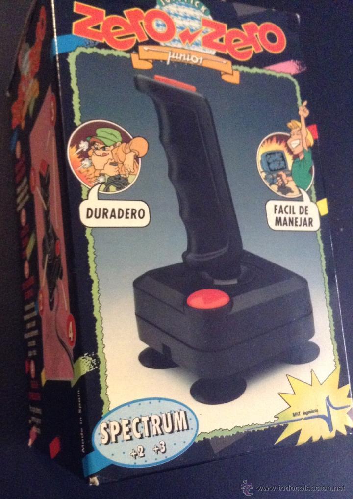 JOYSTICK ZERO ZERO ORIGINAL SPECTRUM +2 Y +3 (Juguetes - Videojuegos y Consolas - Spectrum)