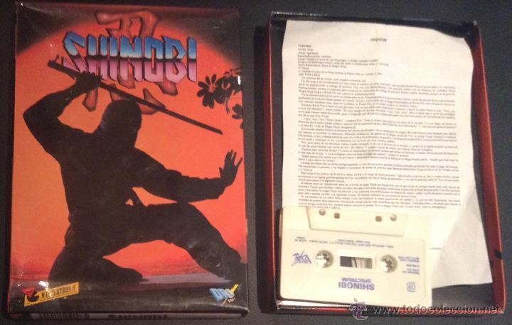 JUEGO DE ORDENADOR SPECTRUM SHINOBI (Juguetes - Videojuegos y Consolas - Spectrum)