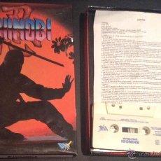 Videojuegos y Consolas: JUEGO DE ORDENADOR SPECTRUM SHINOBI. Lote 48036346