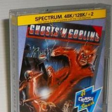 Videojuegos y Consolas: GHOSTS'N GOBLINS [ELITE] [CAPCOM JAPAN] 1986 - ENCORE [ZX SPECTRUM] [NUEVO]. Lote 48277429