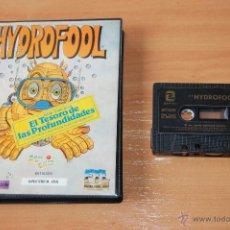 Videojuegos y Consolas: JUEGO ORDENADOR PC HYDROFOOL SPECTRUM. Lote 48402392