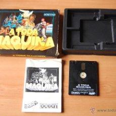Videojuegos y Consolas: JUEGO ORDENADOR PC A TODA MAQUINA 5 JUEGOS SPECTRUM +3. Lote 48402794